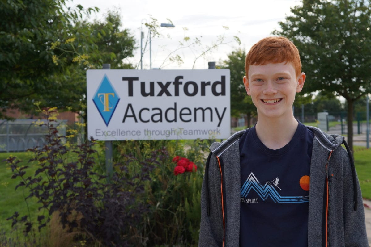 Record number of GCSE grade 9s celebrated at Tuxford Academy