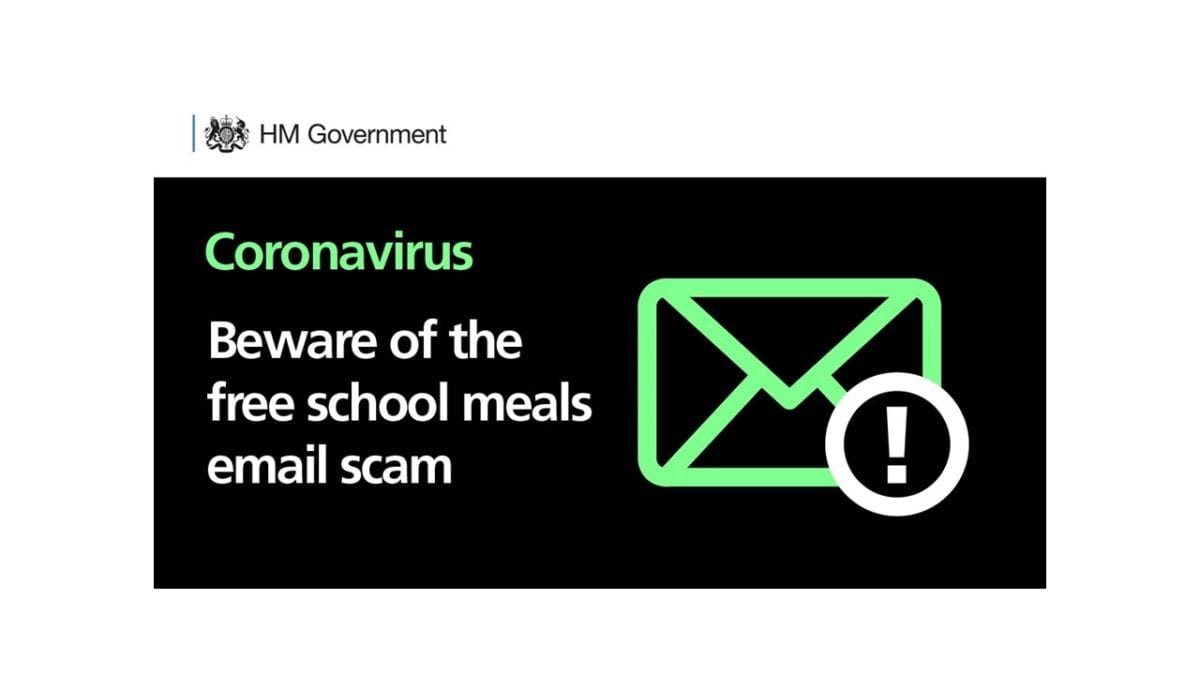 Free School Meals – scam email alert