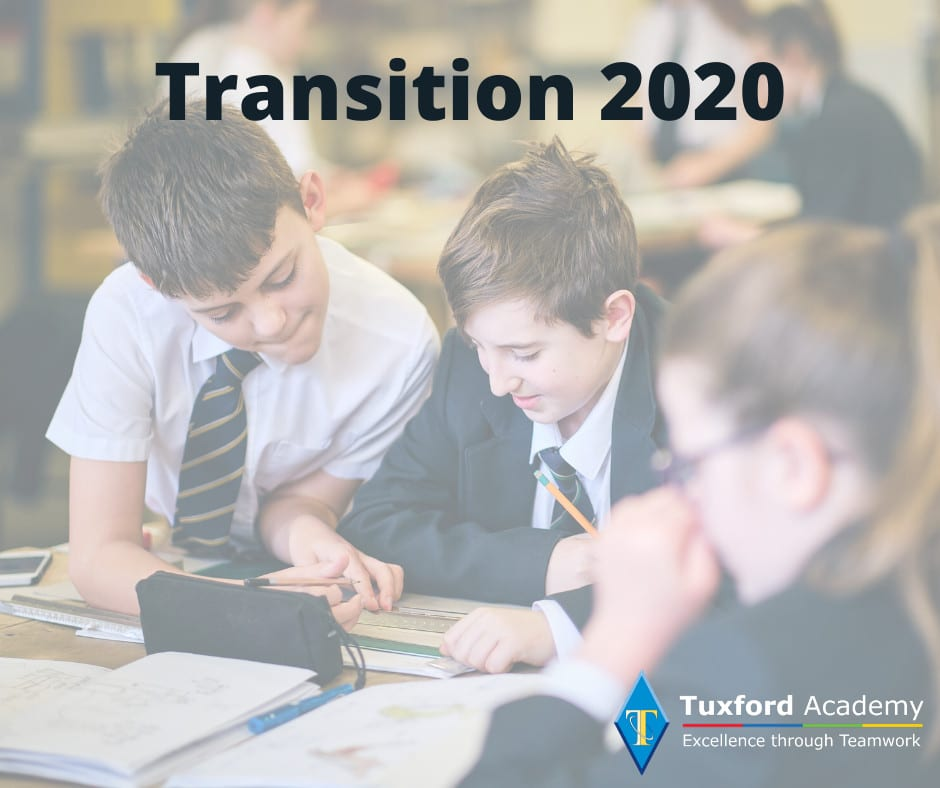 Transition 2020 – for those joining us in September